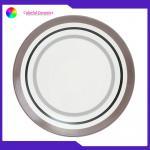 Steak / Pastry / Dessert Custom Printed Ceramic Plates Lead Free Tableware Set for sale
