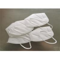 White KN95 &FFP2 Disposable Face Mask for self usage with FDA/CE approved for sale