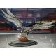 Large Stainless Steel Sculpture Outdoor Decoration Stainless Steel Eagle Sculpture for sale