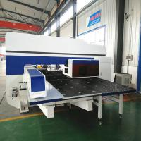 High Speed Servo Punch Press 20kw Power Rating 5 Axis CNC System CE Certification