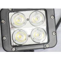 China 40W Offroad LED Work Lights , Beacon 4WD UTE SUV Jeep Driving Lights for sale