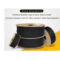 China Wear Resistant PET Expandable Braided Sleeving High Density For Cable Protection for sale