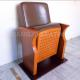 Small Size Leather Lecture Hall Seating Chairs For Conference Room for sale
