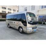 China Diesel 6 Meter 30 Seater Minibus , Coaster Minibus Wth Durable Fabric Seat factory