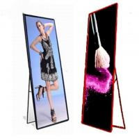 Movable Indoor Full Color LED Display P2.5 Stand Poster Light Box 320x160mm for sale