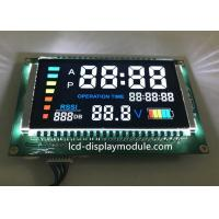 PIN Connector VA 7 Segment LCD , Household Appliance Negative LCD Segment Display for sale