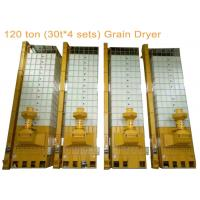 China 4 Sets 30 Ton Per Batch Grain Dryer Machine With Totally 120 Ton Capacity for sale