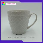 China 20 Oz Custom Embossed Coffee Mugs Durable Ceramic Promotional Mugs for sale