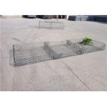 PVC Coating Reno Gabion Mattress Weaved Mesh Gabion ISO9001 Approved for sale