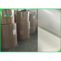 26gsm To 50gsm Greaseproof White Kraft Paper Roll FDA FSC Certified for sale
