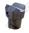 China OD 43mm Pipe AL-43-1S Aluminum Tubing Joints for sale