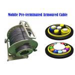 China LC SC ST Fiber Connectors PDLC ODC ODVA Remote Radio Head cell Tower 7.0mm BBU RRU Non-metal for sale