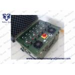 China High Power Vehicle Jammer Shockproof WIFI / Cell Phone Multi Band Jammer for sale