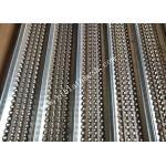 19mm Rib Height  2.5m Length Galvanized HY Rib Mesh U Patterns For Construction for sale