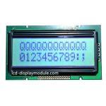 8 Bit Resolution 12x2 Dot Matrix LCD Display , Yellow Green LCD Character Display for sale