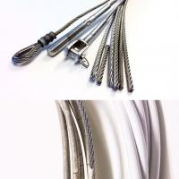 China Galvanized or ungalvanized Steel wire rope for control GB/T 14451 supplier