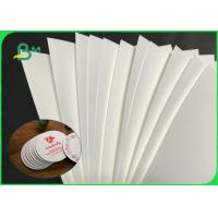 China 33''  * 41'' 0.6mm 1.0mm 1.2mm White Absorbent Paper For Beermat Board for sale