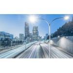 180W High Power Led Street Light 140LPW, IP66, PHILIPS LEDs,  IK08 50000H Life Span CE RoSH Approval for sale