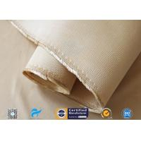 China 1.3mm Heavy Weight Insulation Fiberglass Fabric 96% SiO2 Content Silica Cloth for sale