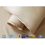 1.3mm Heavy Weight Insulation Fiberglass Fabric 96% SiO2 Content Silica Cloth for sale