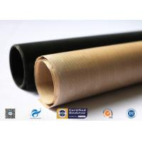 High Temperature Resistant And Anti-Sticking PTFE Coated Fiberglass Fabric for sale