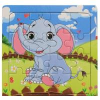Custom Print Jigsaw Puzzle , Children's Animal Paper Jigsaw Puzzle Piece for sale