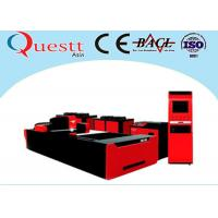 CNC Laser Cutter For Plate Steel Copper 750W , Low Cost Laser Steel Cutting Machine for sale