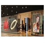Full Color Indoor Transparent screen Glass LED Screen P3.9 P5.2 LED Transparent Display For Adverting for sale