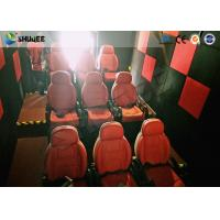 China Shuqee 5D Theater System Low Energy Fresh Experience For Entertainment Places for sale