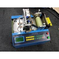 Hook Loop Elastic Automatic Webbing Cutting Machines With Hole Making Function for sale