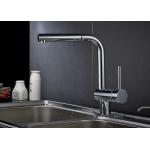 ROVATE Flexible Kitchen Faucet With Sprayer H59 A Grade Brass Body Material for sale