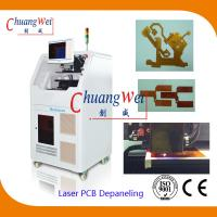 Precision PCB Laser Cutting Machine For Printed Circuit Boards / Cover Layers for sale