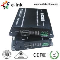 China LC Connector HDMI Over Fiber Optic Extender , Hdmi To Cat5 / Cat6 Extender Converter supplier