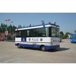 Public Police Office Special Purpose Vehicles , Mobile Patrolling Police Command Vehicles for sale