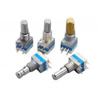China 360° Total Rotational Angle Incremental Encoder With Push Switch For Audio Equipment supplier
