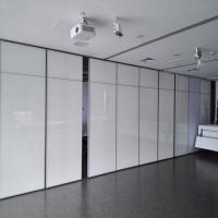Office Movable Partition Walls / Acoustical Operable Folding Panel Partition for sale
