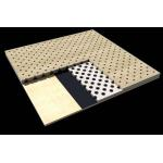 Office Building Perforated Wood Acoustic Panels / Sound Absorption Board for sale