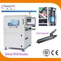 China High Efficiency Inline PCB Router Machine with Break Blade Checking Function supplier