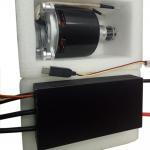 HV 22S 500A Brushless Esc Motor Controller Vinyl For RC UAV / Airplane / Paramotor for sale