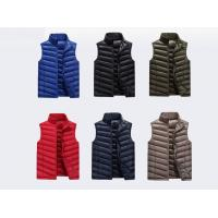 China Polyester/ Cotton Work Jackets & Vests For Men Zipper With Twill / Women's Jackets for sale