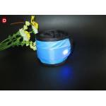 China Night Reflective Belt Strap Flashing Led Safety Armband Pink / Blue For Running for sale