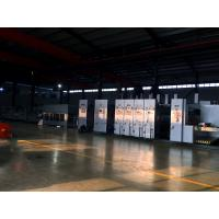 Carton Box Package Line Automatic Flexo Printing Slotting Die Cutting Folding Gluing Bundling Machine for sale
