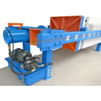 Waste water treatment chamber type PP plate filter press for sale , Automatic press filter with pp plates for sale