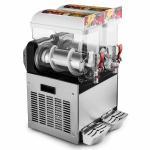 Double Tank Frozen Drink Ice Slush Machine / Frozen Ice Maker For Supermarket