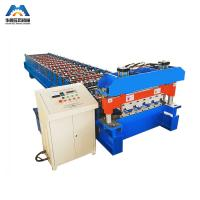 Steel Building IBR Roofing Sheet Cold Roll Forming Machine 19 rows for sale