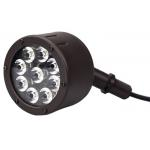 China 9 PCS 12w LED Garden Spotlights High Temperature Acrylic Optic 12091BZRL for sale