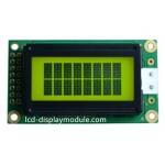 Yellow Green Dot Matrix LCD Display Module 8x2 Character 4bit  8bit MPU for sale