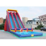 10m high giant inflatable water slide for adults made of heavy duty pvc tarpaulin from China inflatable factory