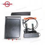 Wifi Full Band Mobile Phone Signal Jammer 2.4GHz 5.8GHz 30-50m Cover Radius for sale