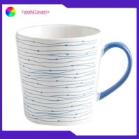 Ceramic Silkscreen Coffee Mugs Big Volume Custom Printed Cups Different Size for sale